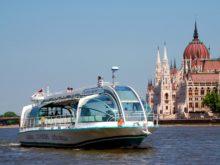 Экскурсия с аудиогидом на кораблике по Дунаю