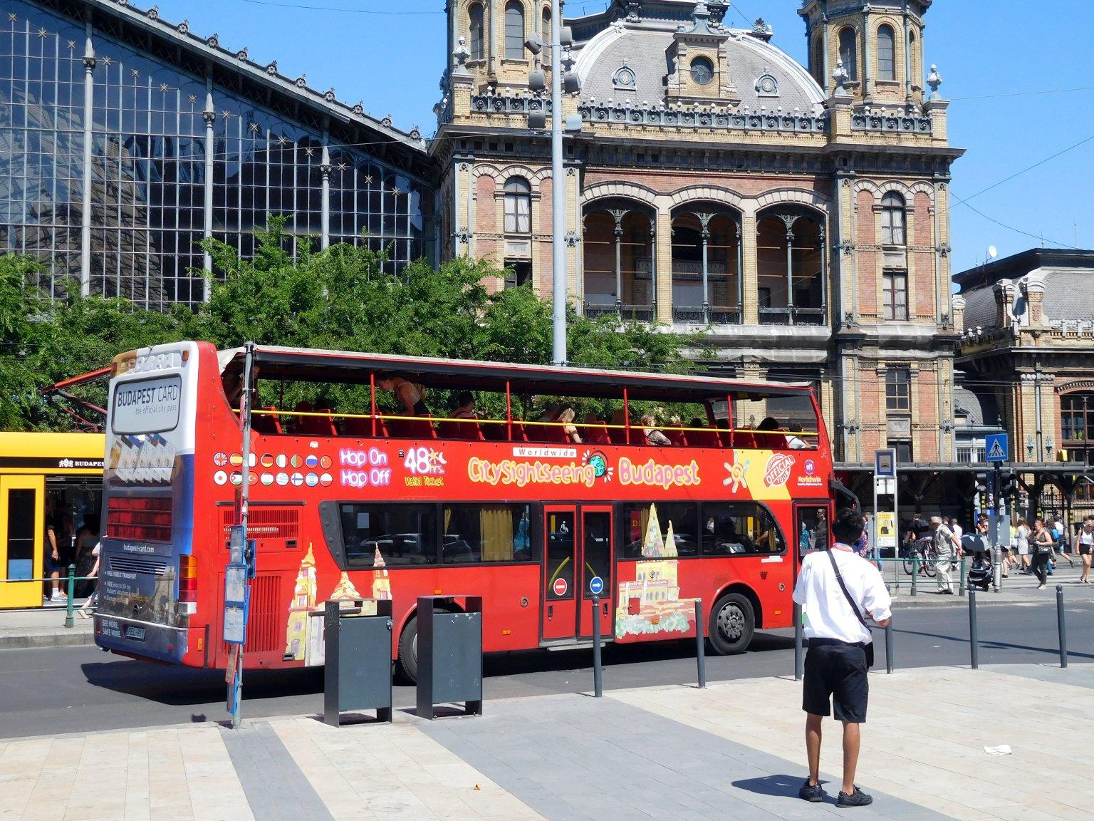 Экскурсионный автобус Hop on Hop off в Будапеште