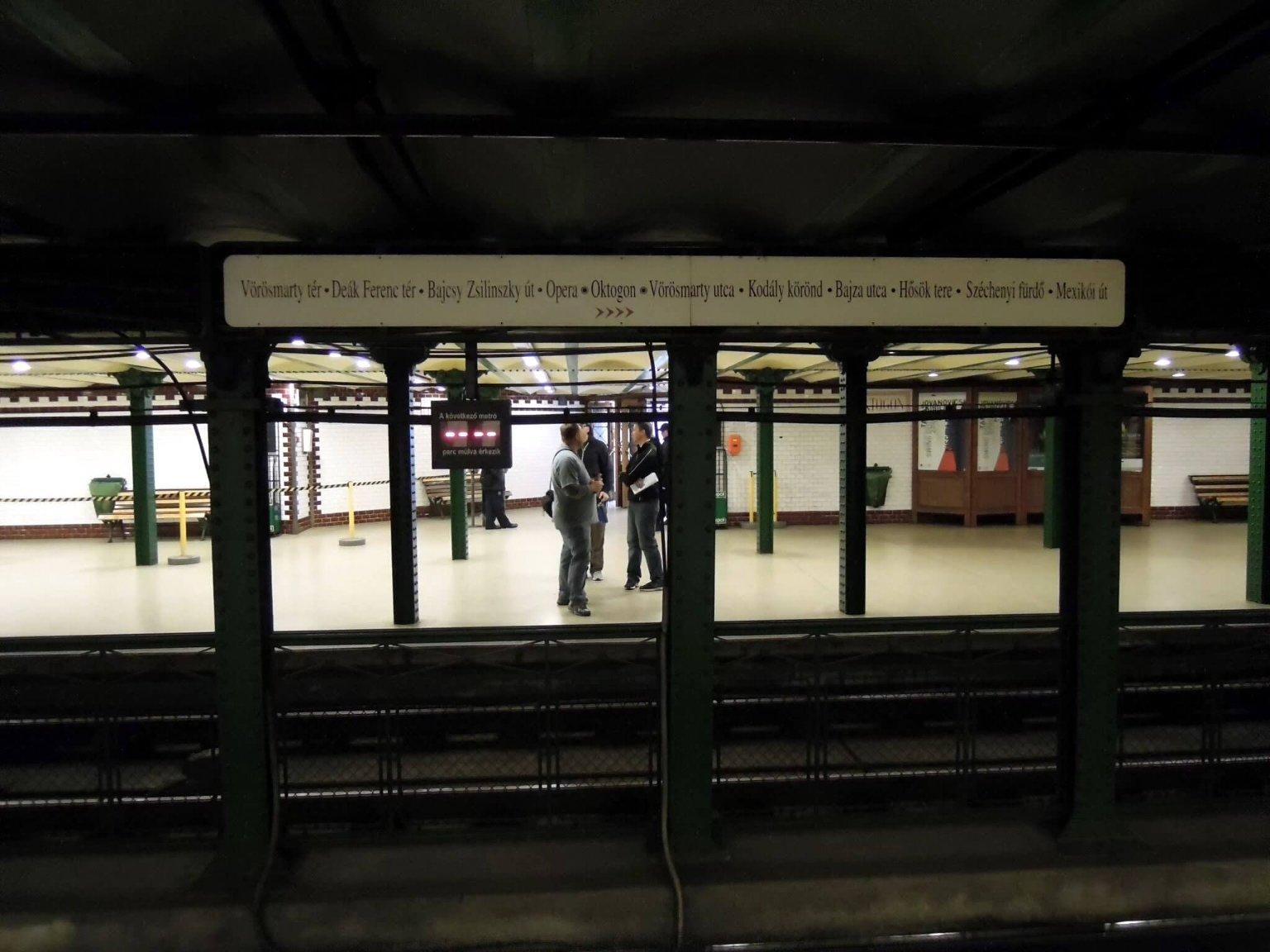 Историческое метро Будапешта